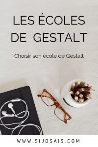 Les écoles de Gestalt - Comment trouver et choisir son école de Gestalt ?