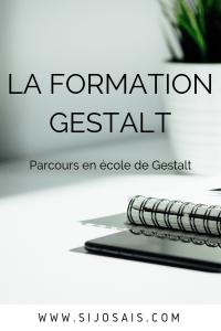 La formation Gestalt - Parcours de formation pour devenir Gestalt thérapeute