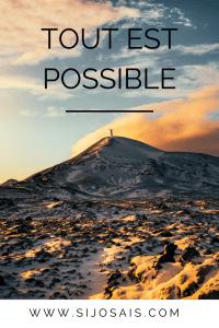 Tout est possible - Continue de croire en toi