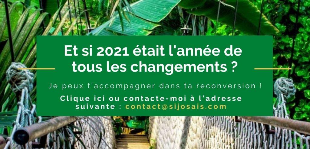 2021 SI J'OSAIS Coach Reconversion professionnelle