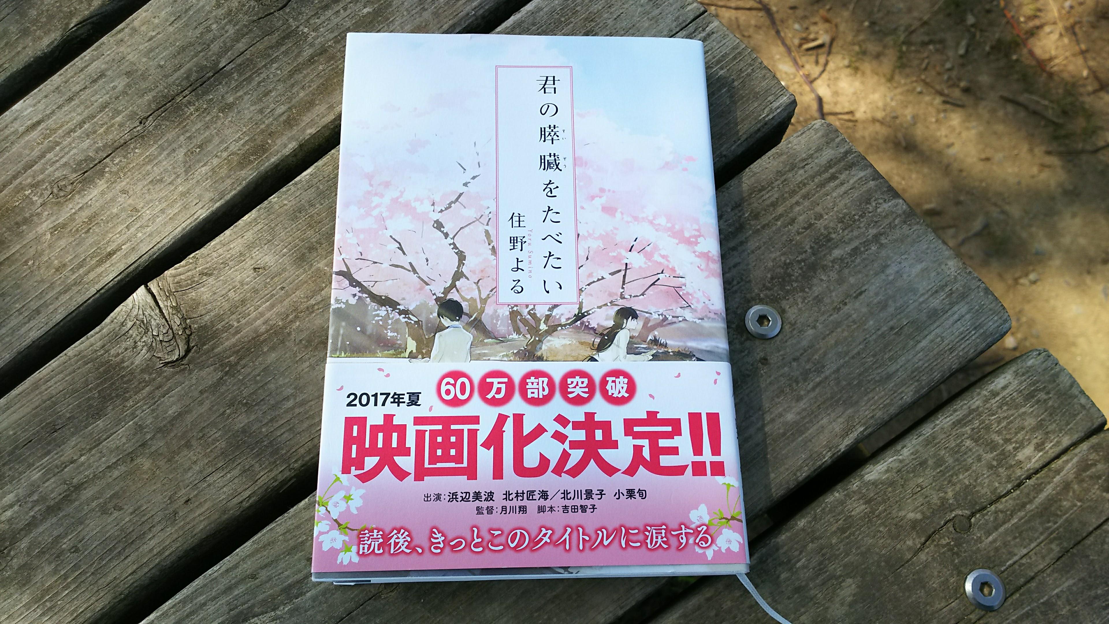 小説「君の膵臓がたべたい」