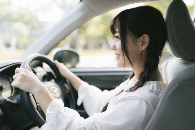 車の中の資格勉強