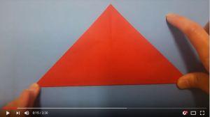 鶴の折り紙③