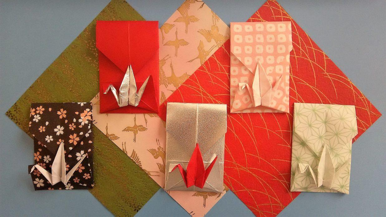 鶴の折り紙