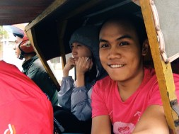 Becak Motor Ride to Ulhee Lheue Harbour