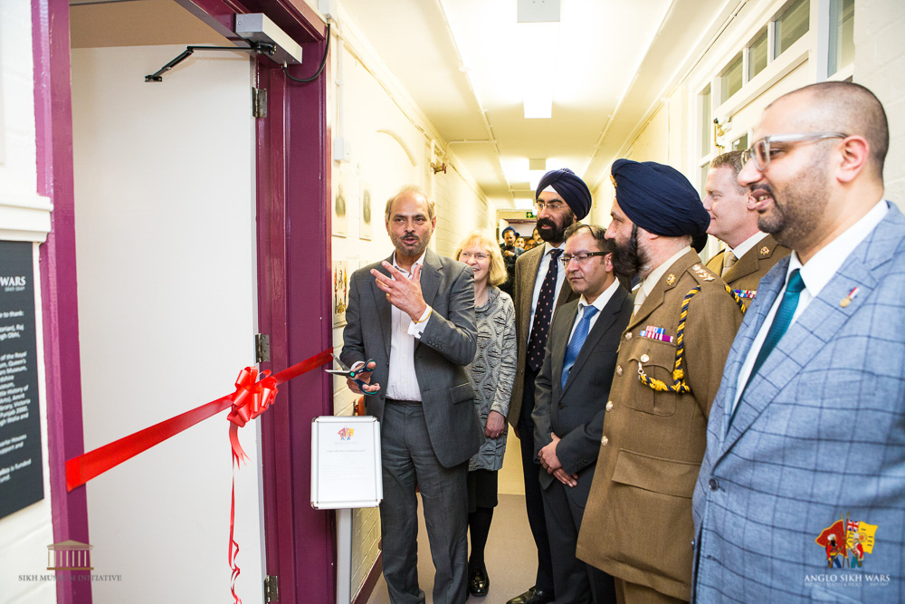 Anglo Sikh Wars 1845-1849 First ever 3D augmented reality exhibition launched in Leicester