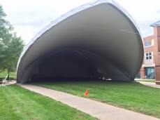 Tent mouth