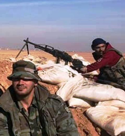 PKP Pecheneg Machine Gun in Syria
