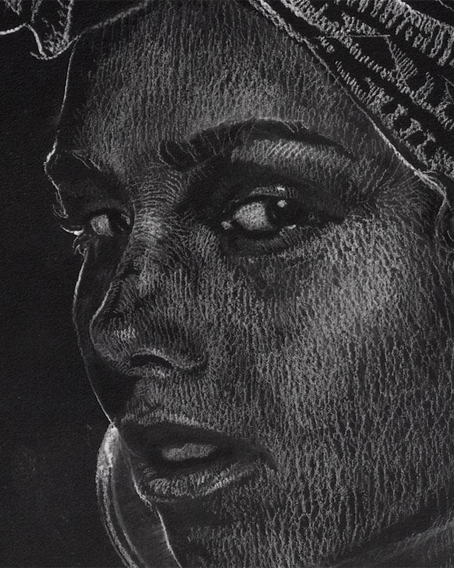 Alicia Keys - Original Drawing