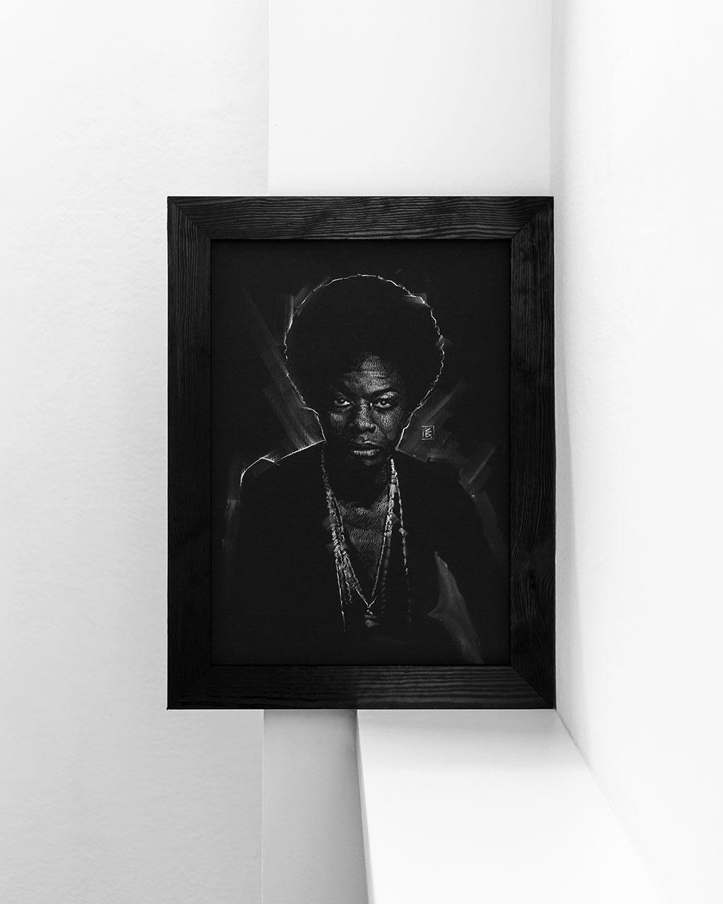 Nina Simone - Original Drawing