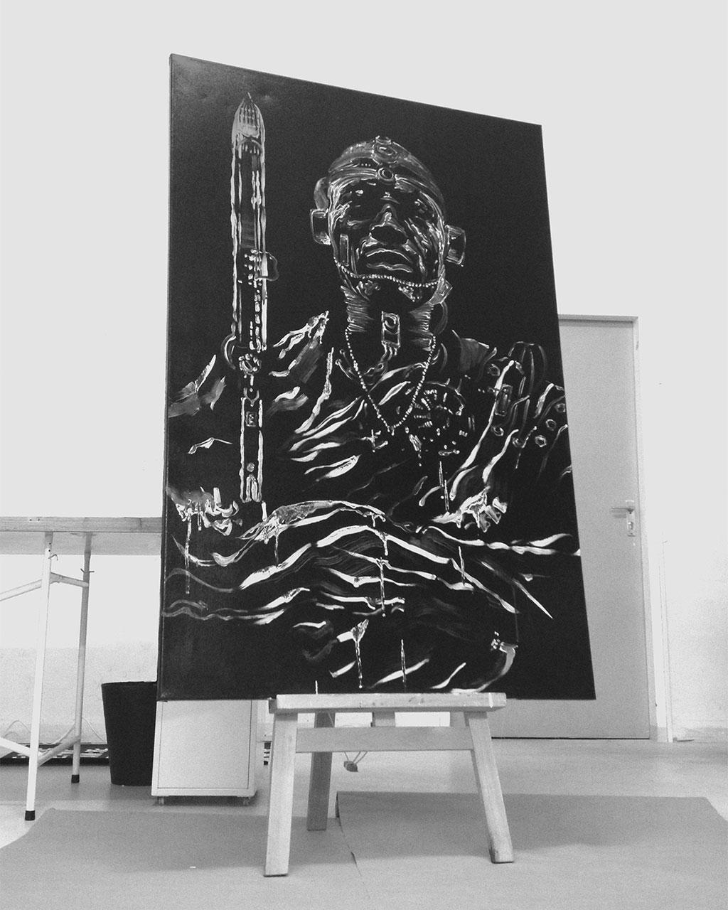 Warrior - Original Painting