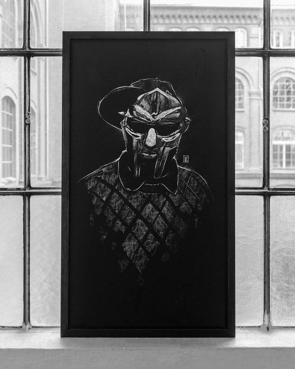 MF Doom - Original Drawing