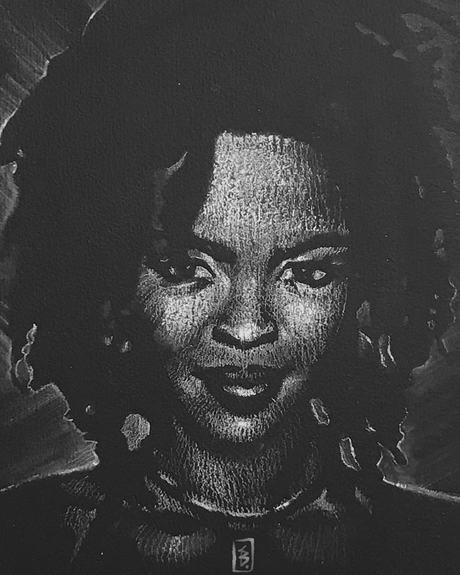 Lauryn Hill - Original Drawing