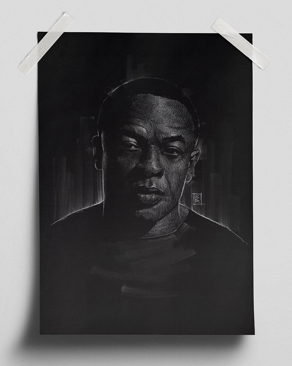 Dr. Dre. - Fine Art Print (Gliceé)