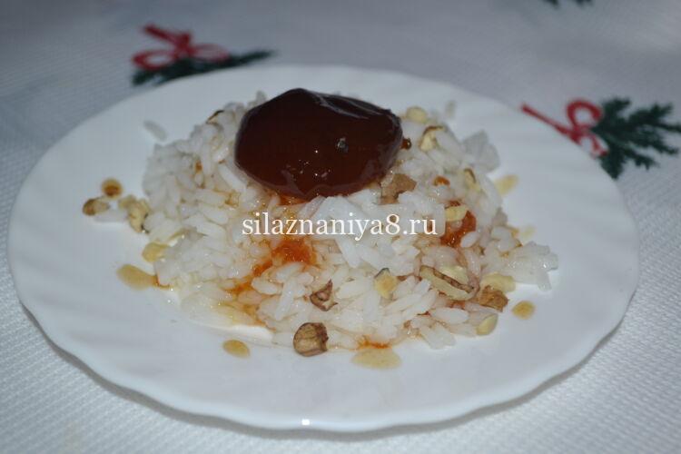 Susta rizsből lekvárral