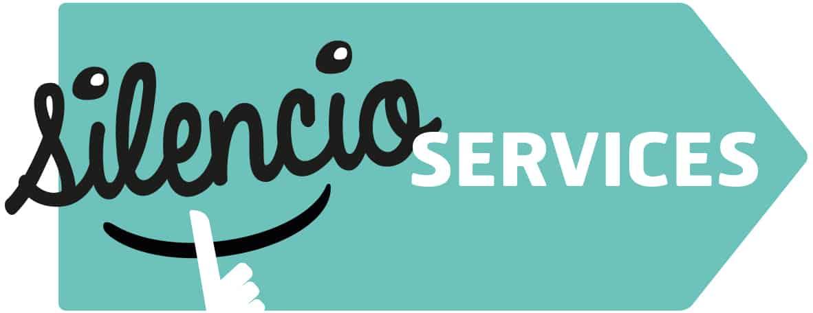 SILENCIO services LOGO fond blanc