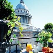 hotel grands hommes vue pantheon silencio