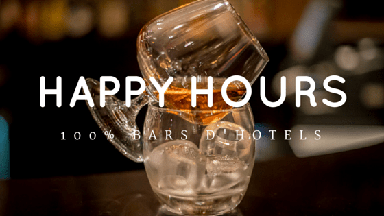 happy hour hotel paris