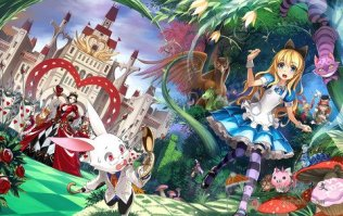Alice in Wonderland Manga