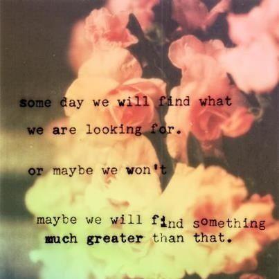 Seeking Something Greater