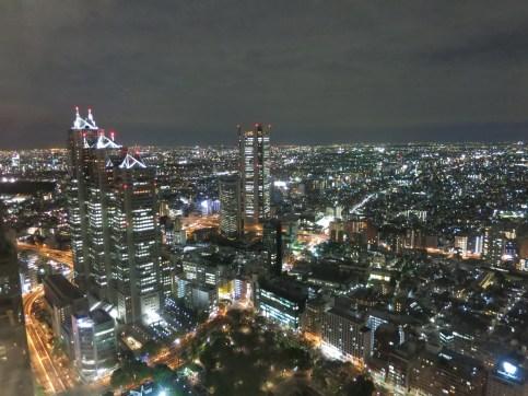 Foto nocturna desde el ayuntamiento