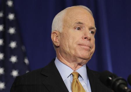 McCain suspends campaign
