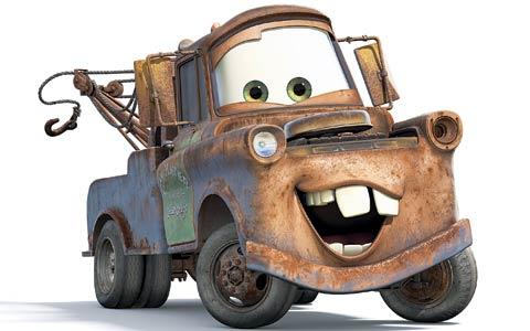 Pixar's Mater - Help me!!!