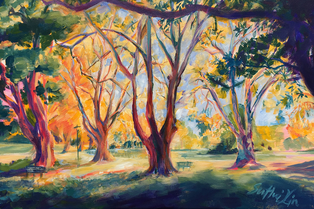 Silent Doodles (Art by Huixin Su) - Hyde Park Perth in