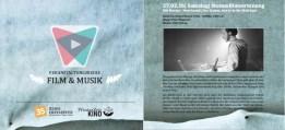 Programmflyer Film & Musik