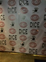 DICE/DCARA photoshoot background