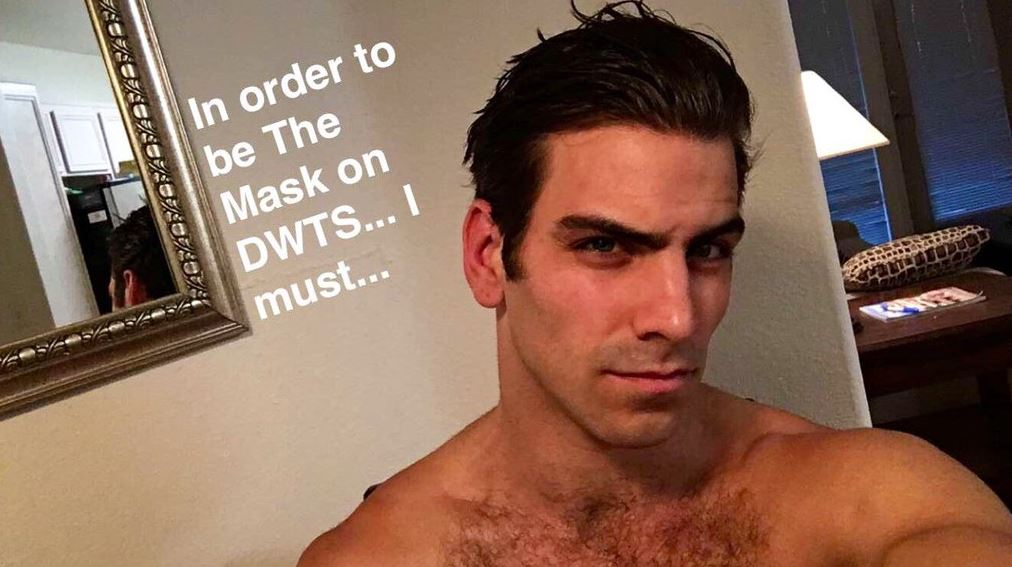 Nyle DiMarco transforms into 'The Mask' on Dancing With The Stars