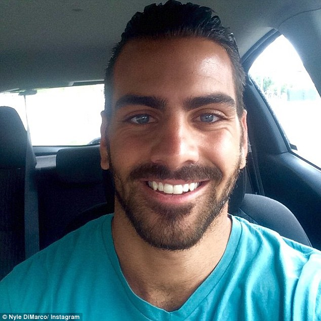 Normal: Nyle, who was born in Queens, New York, said growing up around other deaf people and going to a deaf school stopped him from feeling 'isolated'