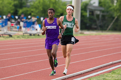 Tennessee School for Deaf Duhamel Run at State Track Meet May 27 2016 Moore