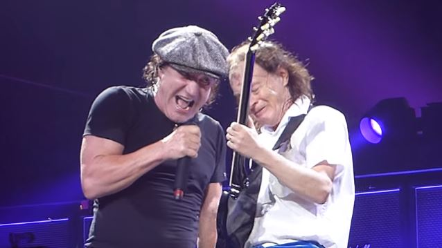 ANGUS YOUNG Treated BRIAN JOHNSON's Exit From AC/DC 'Like WALMART Replacing A Cashier,' Says JIM BREUER