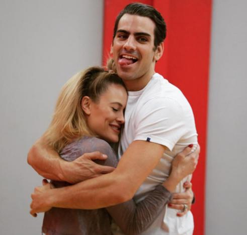 Nyle DiMarco and Peta Murgatroyd Rehearse