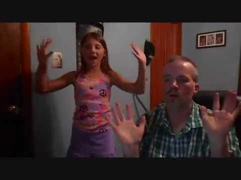 """Father and Daughter Rock in this Awesome ASL Rendition of """"One Call Away"""" by Charlie Puth."""