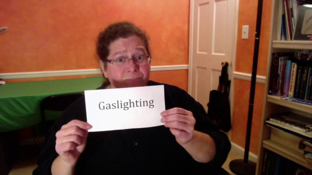 Gaslighting  (American Sign Language)