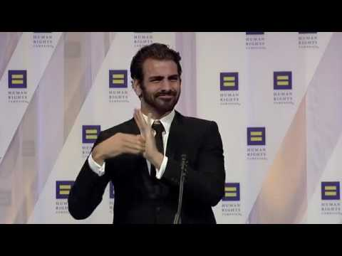 Nyle DiMarco at the 2016 HRC National Dinner