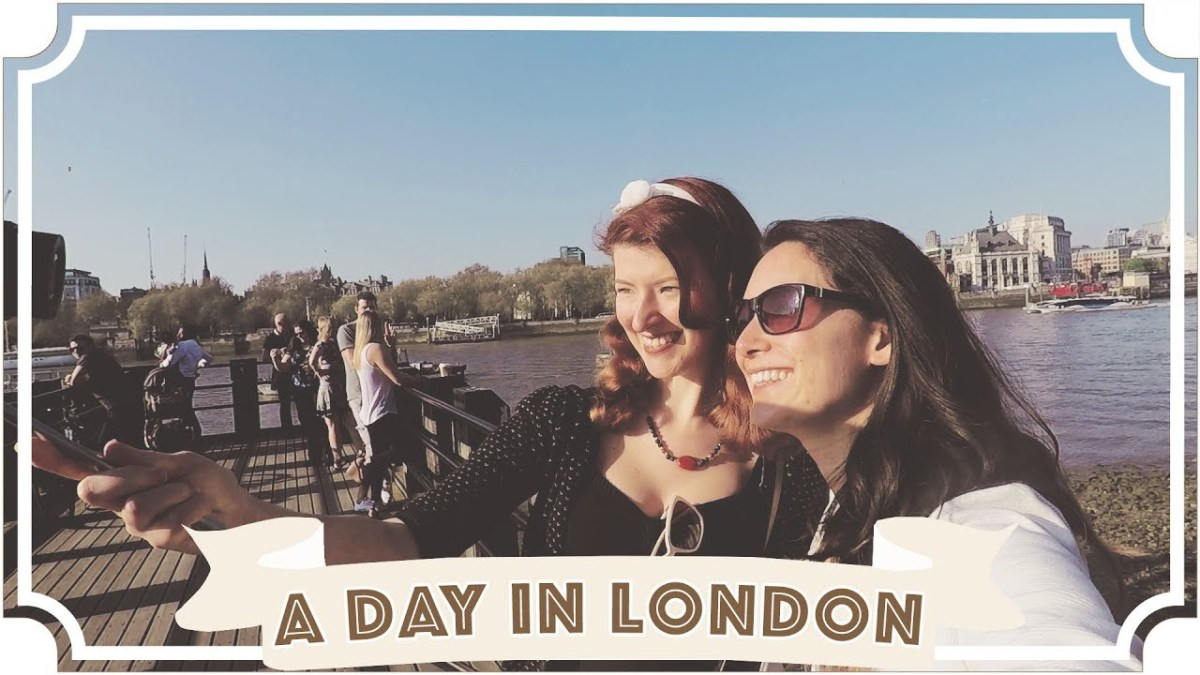 A Day In London With My Wife