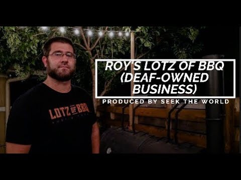 (Deaf-Owned Business) Roy's Lotz of BBQ