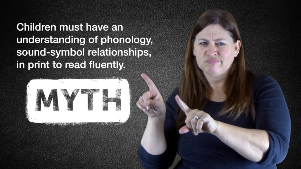 ASL Phonology Part 2: Skilled Deaf Readers & What We Know About Brain Research