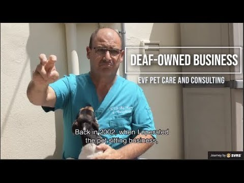 Deaf-Owned Business - EVF Pet Care & Consulting