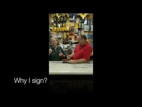 #whyIsign