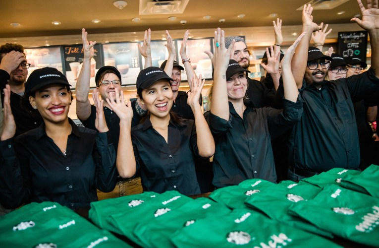 "Starbucks just established an ""Signing Starbucks"" location in Washington DC, is it sustainable?"