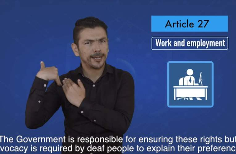 2. articles 27 Work and employment