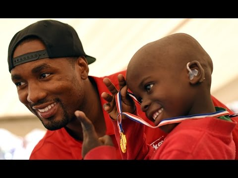 Serge Ibaka changing lives in the Congo