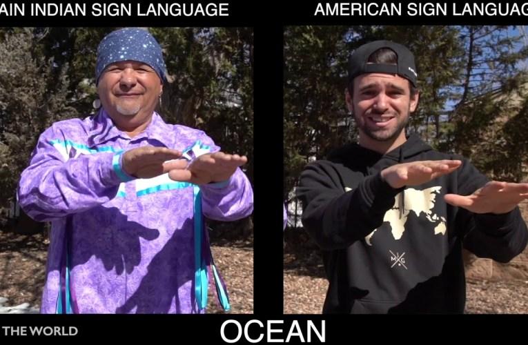 American Sign Language & Plains Indian Sign Language (PISL)