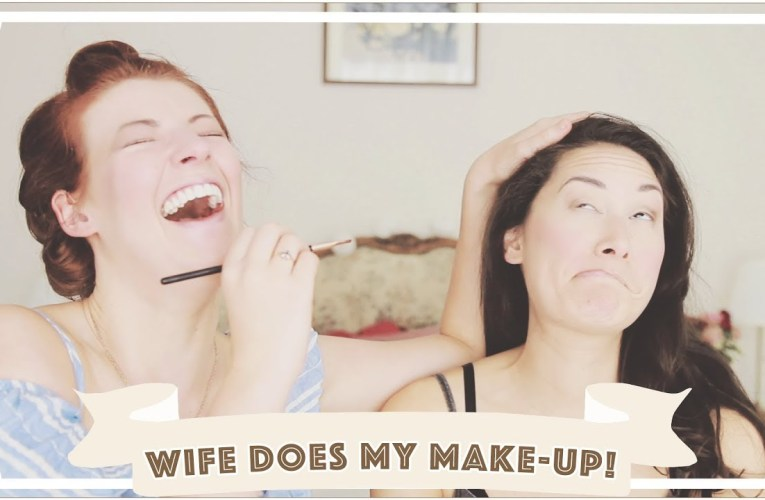 Wife Does My Makeup! // Jessie and Claud