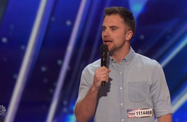 America's Got Talent 2016 DJ Demers The Deaf Stand Up Comic Full Audition Clip S11E02