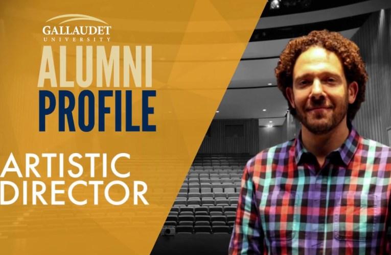 "Alumni Profile:  David ""DJ"" Kurs, '98, Artistic Director"